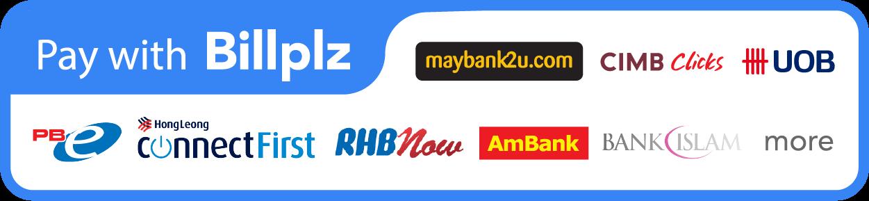 Billplz Internet Banking (Diskaun RM5)